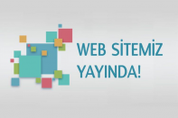 Web Sitemiz Yayında